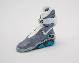 nike mag miniature - back to the future shoe - bttf - Marty Mcfly - DeLorean