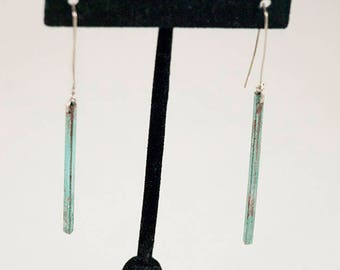 Bermuda Square Tube Earrings