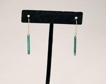 Bermuda Square Tube Earrings 2