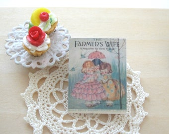 dollhouse vintage  magazine farmers wife 12th scale miniature