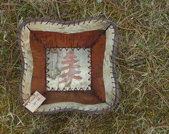 Birch Bark Bowl/Basket