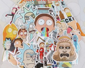 Rick and Morty Stickers