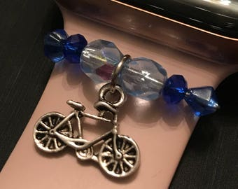 Apple Watch Slide on Charm Jewelry/Accessory Bicycle Ride Bike