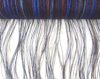 SAORI  Linen Warp Roller ~ Summer Night