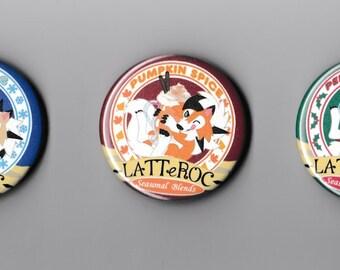 LatteRoc Button Set