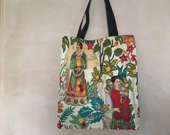 Frida  tote bag (cream)