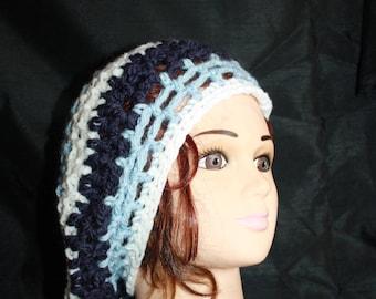 beret, crochet, very hot mesh 21