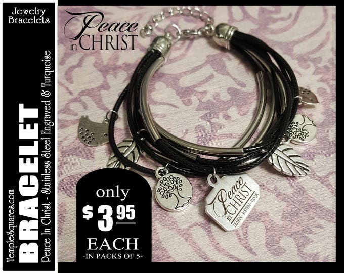YW 2018 Peace In Christ Charm Bracelets Young Women  Jewelry Charms New Beginnings Temporarily out of stock will ship first week of February