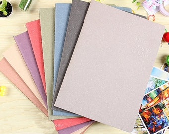 8pcs blank notebook,lined notebook,Exercise book,Student notebook,notepads,Sketchbook