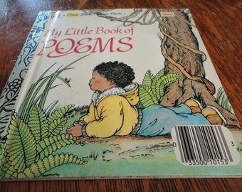 My Little Book Of Poems First Little Golden Book Vintage Children's Story