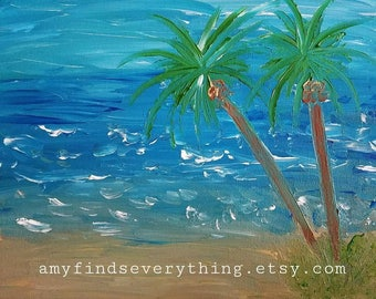 Where the Ocean Meets the Sea Painting