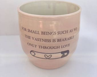 Porcelain Pink Unity Ally Cup