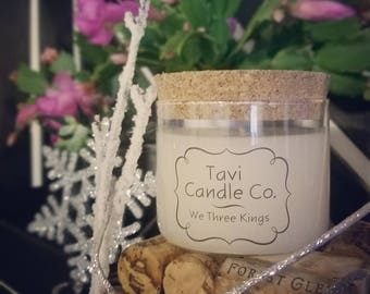 We Three Kings - Holiday Scented Soy Wax Candle (Limited Edition)