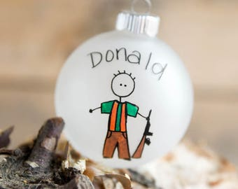 Hunter Christmas Ornament - Personalized for Free