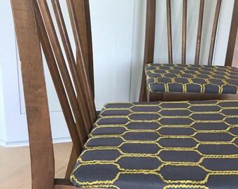 Pair of Holabird Mid Century Dining Chairs