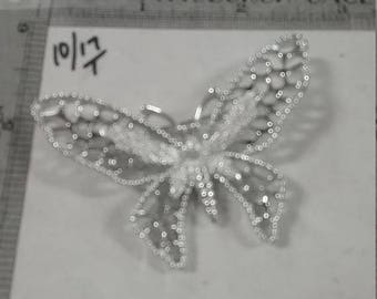 10% OFF 3 day sale Used silvertone  sarah coventry butterfly brooch