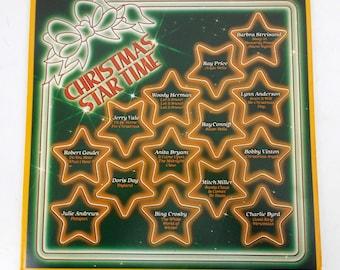 Christmas Star Time Various Artists Vinyl LP Record P 15756