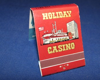 HOLIDAY CASINO Las Vegas Souvenir Matchbook