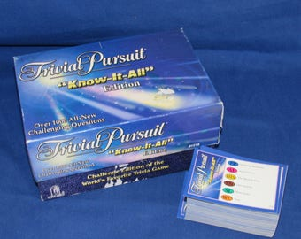 TRIVIAL PURSUIT Know-It-All Edition 1998