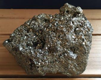 Stunning Pyrite Stone, Healing Stone, Healing Crystal, Chakra  Stone, Spiritual Stone