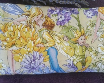 Lavender fairies scented eye pillow for stress or headache relief