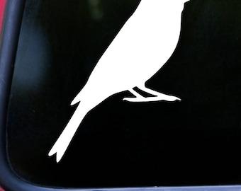 "CANARY 5"" x 4"" Vinyl Decal Sticker - FINCH - Atlantic Yellow Songbird *Free Shipping*"