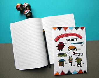 Spritz notebook / / / 48 lined pages