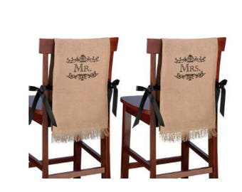 Private listing: wedding chair covers for Tami