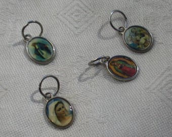 Lot Of Salvaged Religious Charms