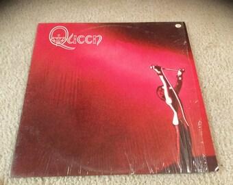 Queen self titled 1973 Vinyl Record LP freddy mercury in shrink