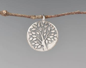 One of a kind Leafy Tree Totem-talisman-amulet-charm-leaves-tree