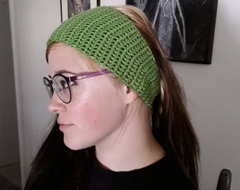 Crocheted heaband