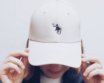 Do not disturb please/ Embroidered Dad Cap / Dad hat / Baseball Cap / Baseball Hat / Dad cap / Tumblr Hat / Embroider Hat / Cap / Hat
