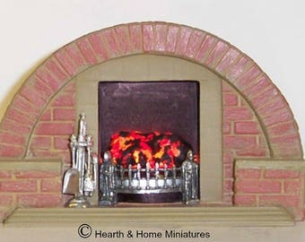 12th Scale      1930s to 1950s Dollshouse Fireplaces    ARF1T