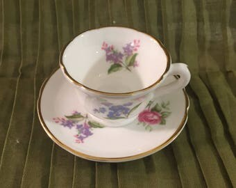 Oakley China Child's Tea Party Teacup and Saucer