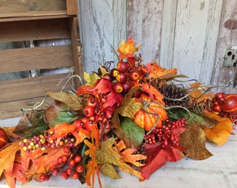 Fall Centerpiece ,Thanksgiving Centerpiece, Fall table arrangement,Table centerpice for Thanksgiving,Fall arrangment,Fall floral arrangement