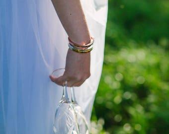 MAXIM bracelet half square ring Silver 925