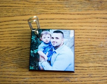 Square Paperweight, Custom Photo Gifts, Unique Paperweights, Desk Photo Display, Table Paperweight, Personalized Photo, Paperweight Custom