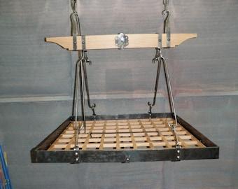 Custom Forged Hanging Pot Rack