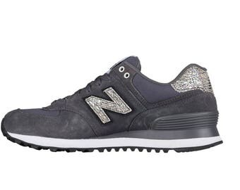 Womens Bling New Balance 574 - Glitter New Balance - Bling New Balance - Bling Shoes - Blinged Shoes - 574 Bling-pink Glitter