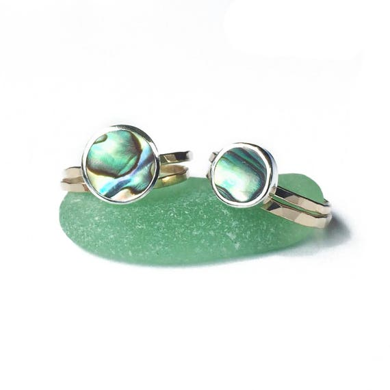 design your own abalone ring