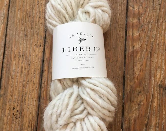 Camellia Fiber Company Alpaca Wool Handspun in Frost