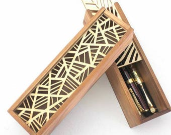 Pencilcase,box for pens,wood