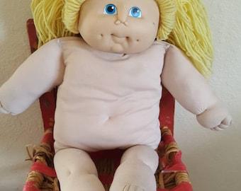 1984 M N Thomas Doll Blond Hair Blue Eyes