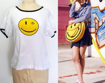 Vintage 90s Smiley T-Shirt
