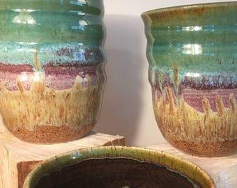 Rainbow Ceramic Vase