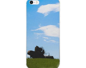 iPhone 5/5s/Se, 6/6s, 6/6s Plus Case - Red Silo Original Art - Field Sentinel