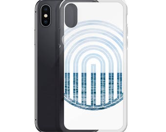 iPhone Case - Red Silo Original Graphic Art