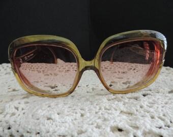 Terri Brogan Frames Oversize Vintage Eyeglasses: 1970's or 80's. Sustainable Fashion
