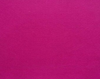 Felt 1.5 mm fuchsia pink A4 size sheet